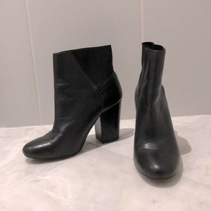 BCBG black Ankle Booties